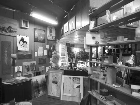 טמיר ליכטנברג, חנות המפעל, 2010, מראה הצבה, גלריה רוזנפלד