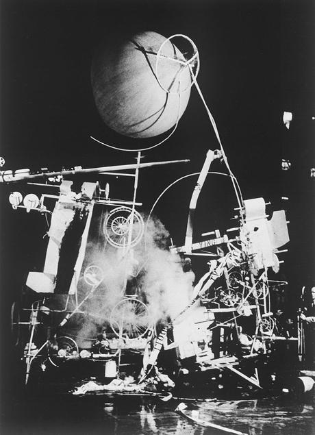 ז'אן טינגלי, מחווה לניו יורק, 1960