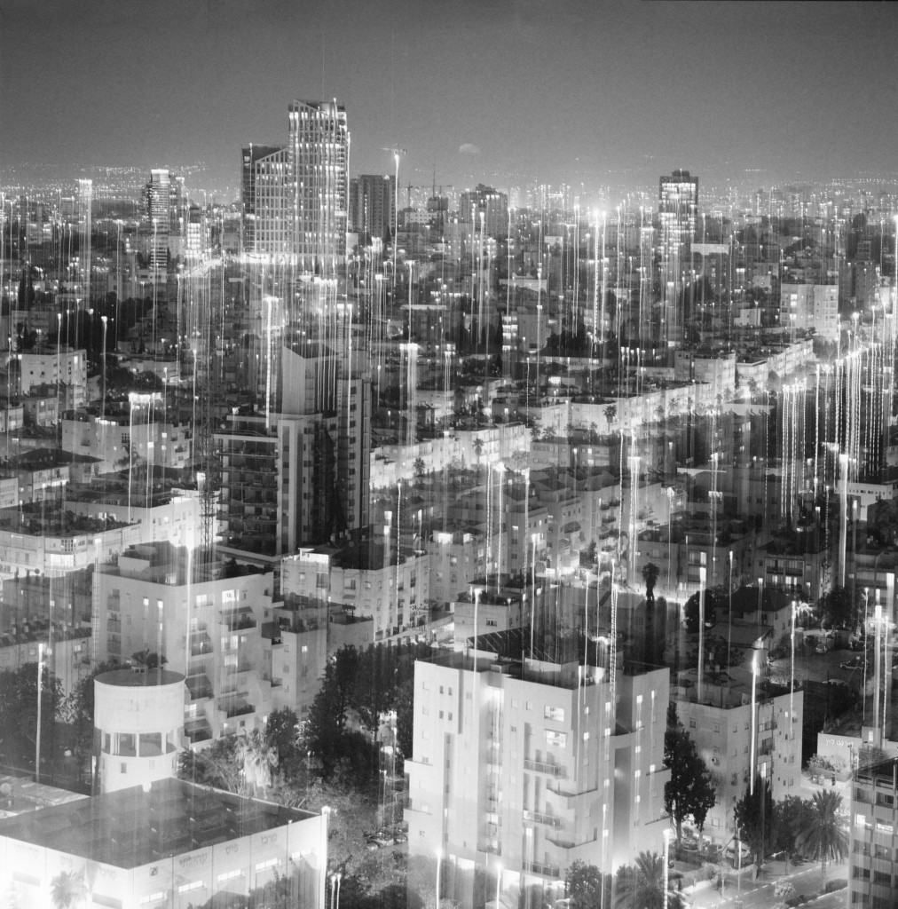חנה פרימק עיר אפשרית #3 2016 הדפסת דיו 100X100