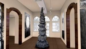 פיטר יעקב מלץ, הדמית חלל, לתערוכה, 2017